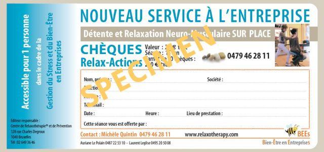 cheques relax-action relaxation en entreprise relaxotherapy.com
